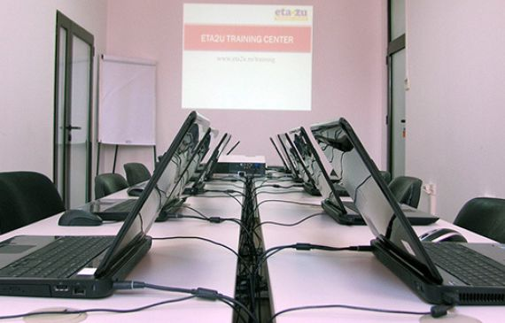 The training rooms at our head office – attend our open training courses